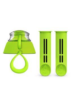 Zielone, limonkowe filtry do butelki Dafi, 2-Pak wkładów, wkłady Dafi