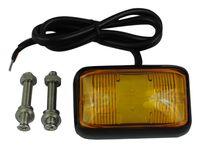 mocna Lampa LED obrysowa obrysówka 4 SMD mocna pomarańczowa 12v 24v