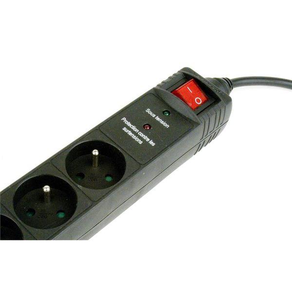 Listwa zasilająca  ENERGENIE  SPF5-C-10 (3m; kolor czarny) zdjęcie 3