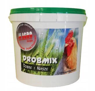 DROBMIX NIOSKA 4% wiaderko 4kg witaminy dla kur