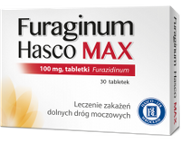 Furaginum Hasco Max 100 mg 30 tab.