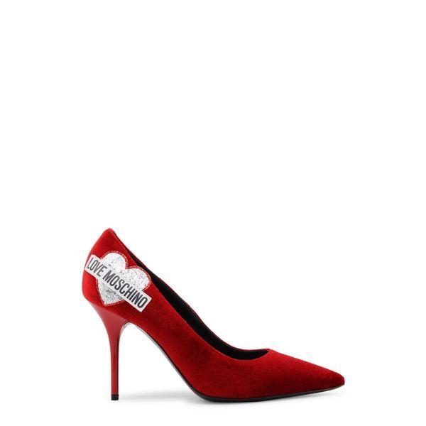 Love Moschino  czółenka damskie  czerwony 37 zdjęcie 1