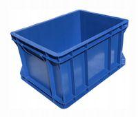 Plastikowy pojemnik magazynowy transportowy skrzynka 1/2 EURO 40x30x22