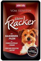 Animonda Vom Feinsten Dog Kleiner Racker Z Sercami Cielęcymi I Grzybami 85G