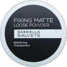 Gabriella Salvete Fixing Matte Loose Powder Puder 6g Transparent