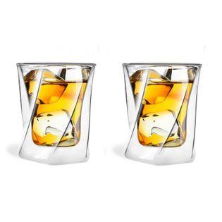 Szklanki termiczne do Drinków Whisky 300 ml 2 sztuki