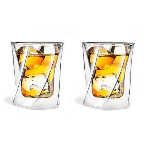 Szklanki termiczne do Drinków Whisky 300 ml 2 sztuki na Arena.pl
