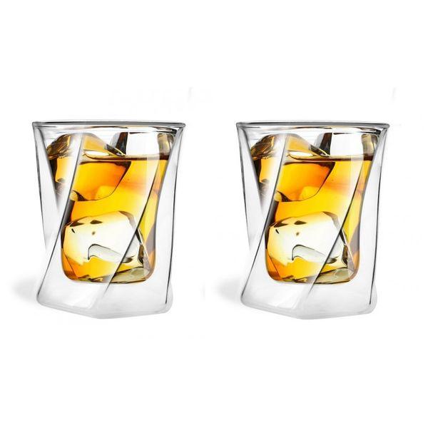 Szklanki termiczne do Drinków Whisky 300 ml 2 sztuki zdjęcie 1