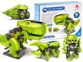 AG211D ROBOT SOLARNY Dinozaur 4w1 Zabawka ZESTAW