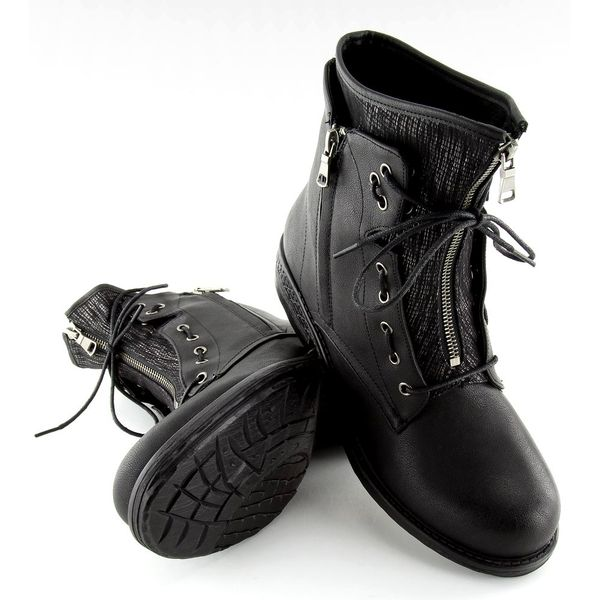 292c0161c2252 Botki damskie militarne czarne CLS-31 Black r.37 • Arena.pl