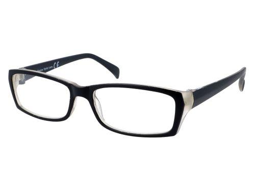 Prostokątne zastępcze okulary plusy czarne +1.00 na Arena.pl