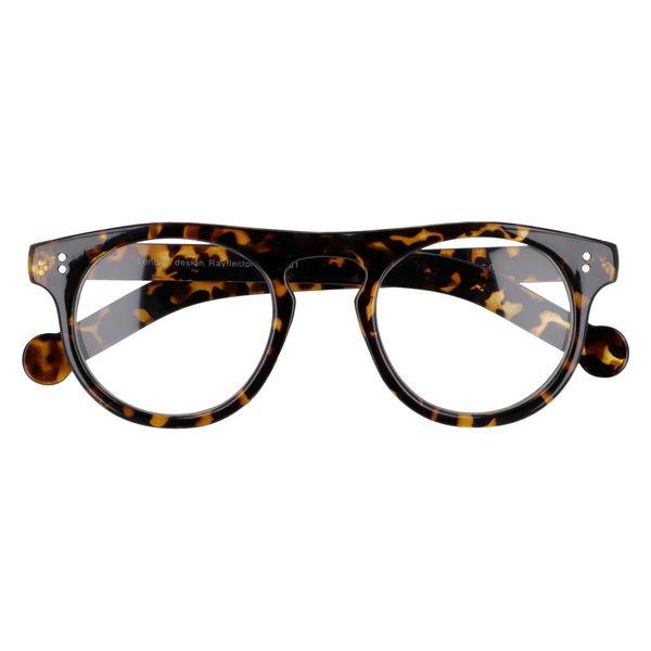 Owalne okulary zerówki vintage zdjęcie 1