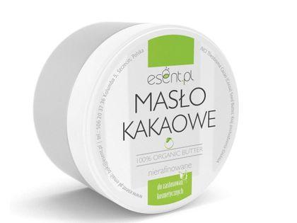 Masło Kakaowe 100 % organiczne Nierafinowane 200 ml Esent