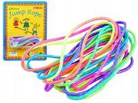 Kolorowa Guma do skakania dla dzieci 230 cm SP0630