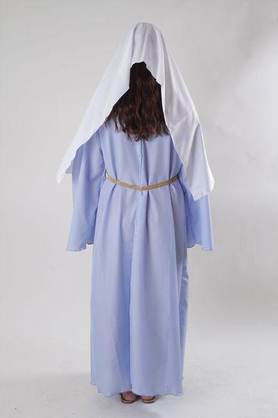 Strój Św. Maryja 98/104 Bal Świętych Jasełka zdjęcie 2