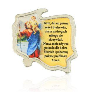 Modlitwa Kierowcy  Św. Krzysztof