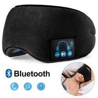 Opaska, maska na oczy do spania z wbudowanymi słuchawkami bluetooth