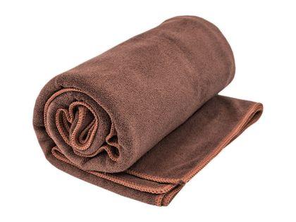 Ręcznik szybkoschnący mikrofibra frotte 70x140 cm BRĄZOWY