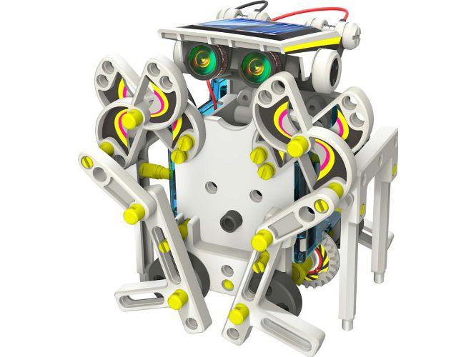Edukacyjny Zestaw Solarny Robot 14w1 - Pies, Łódka zdjęcie 2