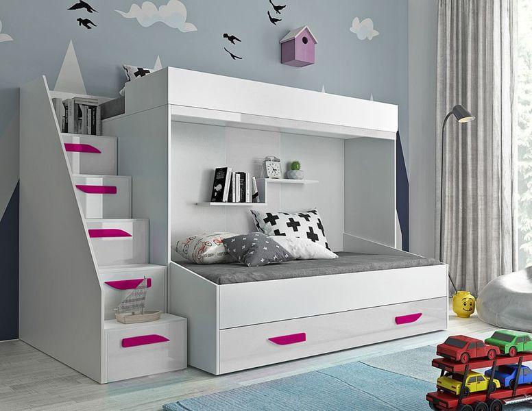 Łóżko piętrowe antresola LUX 16 zdjęcie 8