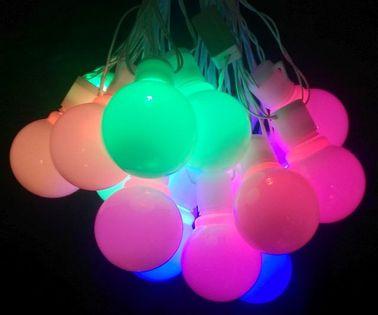 Lampki choinkowe wielkie kulki 18 kulek led multikolor