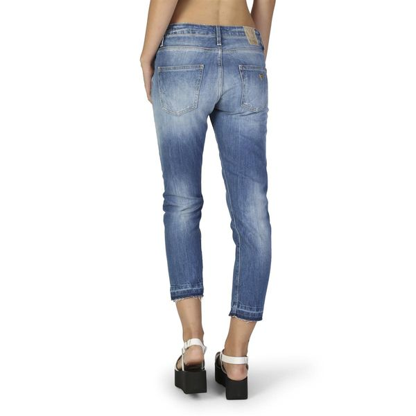 c1915bdf16efa Guess damskie spodnie jeansy niebieski 27 • Arena.pl
