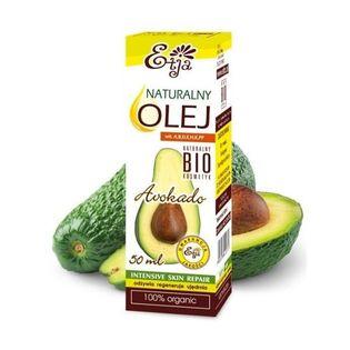 Olej Avokado Bio 50Ml Intensywnie Nawilża Etja