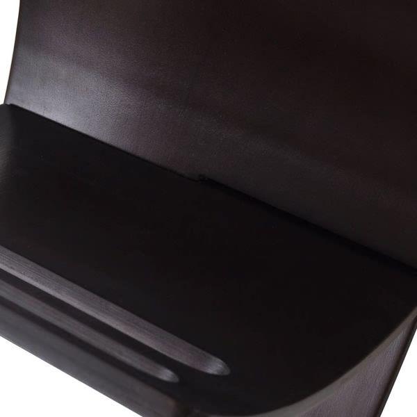 Drewniany stojak na gazety, brązowy zdjęcie 6