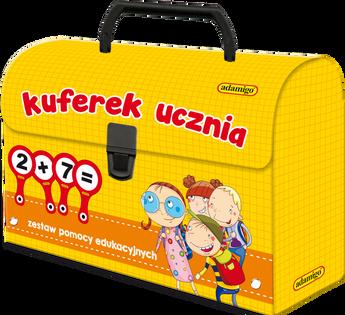 GRA PLANSZOWA ADAMIGO KUFEREK UCZNIA ZESTAW POMOCY 7141