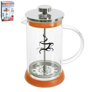 Szklany Zaparzacz Do Kawy / Herbaty French Press 1.0L Orion