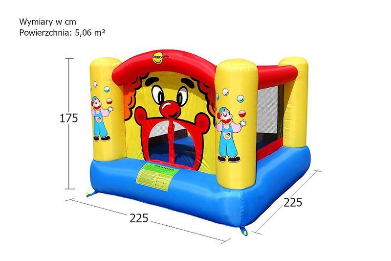 Dmuchany plac zabaw HappyHop - Clown zdjęcie 3