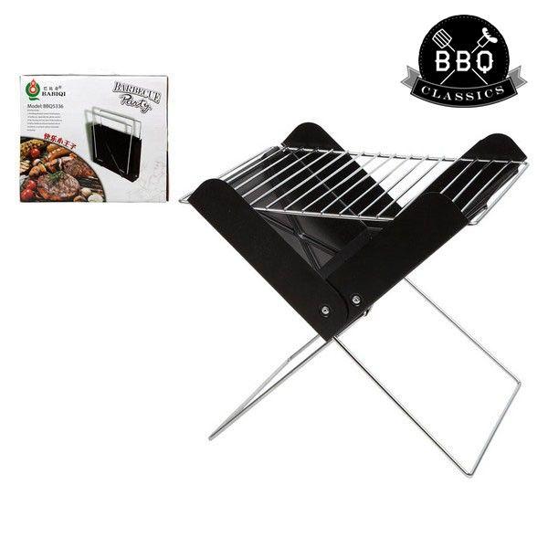 Przenośny grill BBQ Classics 33085 (30 x 26 x 30 cm) Czarny zdjęcie 1