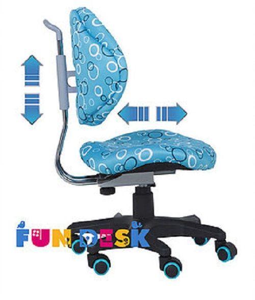 Regulowane Krzesło Fotel ortopedyczny dla dziecka SST5 Blue zdjęcie 6