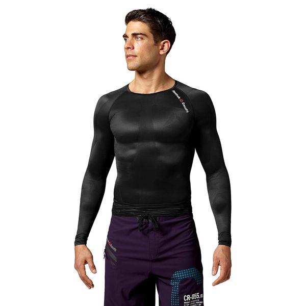 f595af14 Koszulka Reebok CrossFit Longsleeve męska kompresyjna na długi rękaw  treningowa L zdjęcie 1