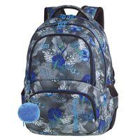Plecak szkolny CoolPack Spiner 27L, Blue Hibiscus A078