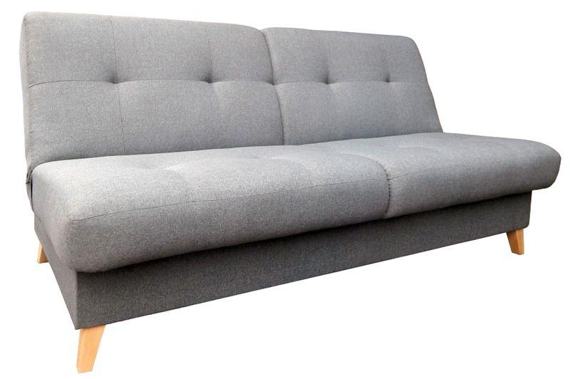 Kanapa Na Drewnianych Nóżkach Wersalka Sofa Funkcja Spania Riko
