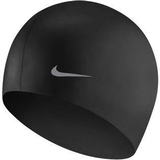 Czepek pływacki Nike Os Solid Junior czarny TESS0106-001