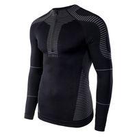 Męska koszulka bluza termoaktywna Elbrus Radiav Top czarna rozmiar M/L