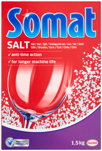 Sól do zmywarek zmywarki Somat 1,5 kg na Arena.pl