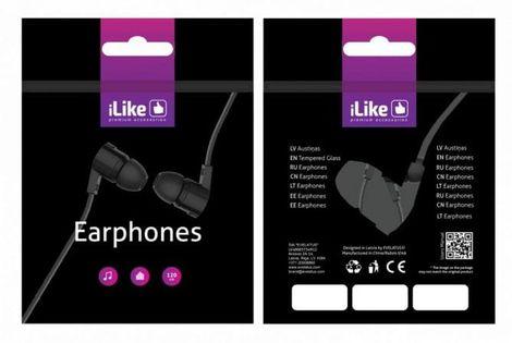 ILike Słuchawki Universal Earphones IEA01WH White