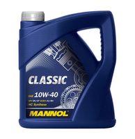 MANNOL Olej Classic 10W-40 API SN/CH-4 5L + GRATIS