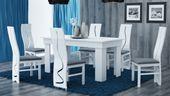 Duży stół jadalnia salon 160x80x75 * biały zdjęcie 2