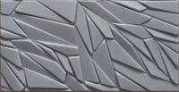 Piankowe Kasetony Sufitowe 3D Rock SZARY Panele Ścienne