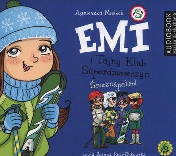 Emi i Tajny Klub Superdziewczyn Tom 6 Śnieżny patrol Mielech Agnieszka