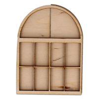 AD965 Owalne okno z okiennicami