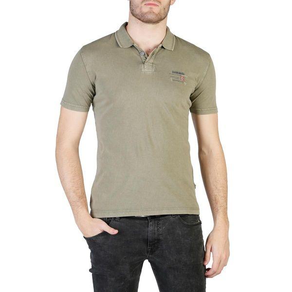 Napapijri koszulka męska polo zielony L zdjęcie 1