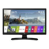 "Smart TV LG 24MT49SPZ 24"" HD Ready IPS LED USB Wifi Czarny"