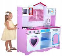 Drewniana Kuchnia Dla Dzieci TOLA - BARDZO DUŻA