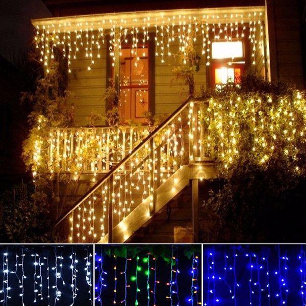 10x SOPLE 200 LED LAMPKI CHOINKOWE BIAŁE CIEPŁE zdjęcie 3