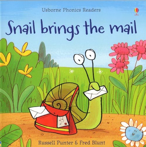 Usborne Phonics Readers - Snail brings the mail na Arena.pl